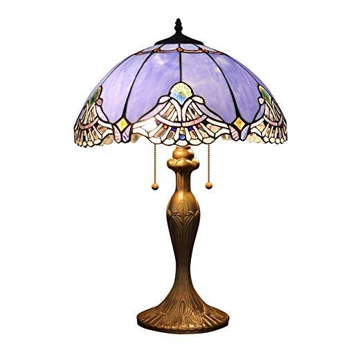 Scra AC Lámpara Retro De Dormitorio Sala De Estar/Lámpara De Comedor/Lámpara Clásica De Alta Gama Lámpara De Vidrio De Color Iluminación (Color : Yellow)