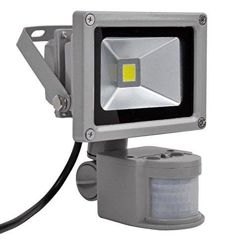 10W projecteur extérieur à lED sMD étanche iP65 avec détecteur de mouvement blanc froid