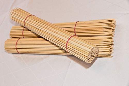 45 cm Bambusspieß Kartoffelspirale Grillspieß Ø 5 mm (100)
