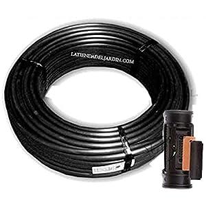 Suinga. 100 metros TUBERIA 16mm negra AUTOCOMPENSANTE cada 50 cm separación por gotero. Caudal 2,1 l/h. Tubería para…