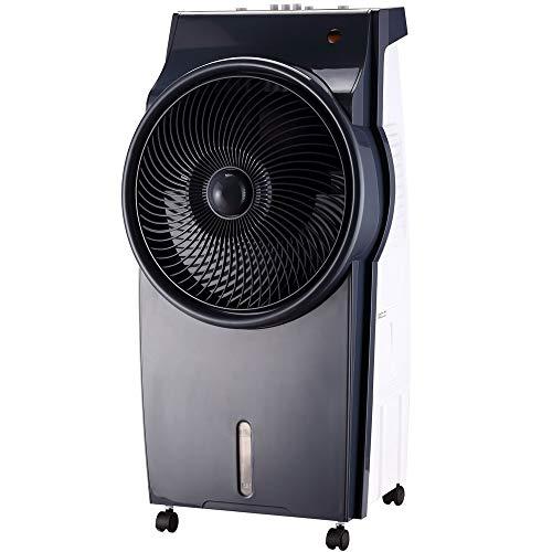 Syntrox Germany 4 in 1 Luftkühler Luftbefeuchter Lufterfrischer und Ventilator AC-95W-B 8L Black