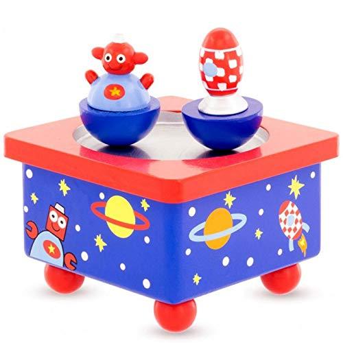 Un Jeu Des Jouets Boîte à Musique Berceuse bébé sans Piles Robot Cadeau de Naissance