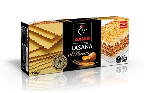 Pastas Gallo - Lasaña Huevo Paquete 290 g