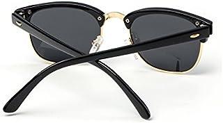 Sunglasses Child Sunglasses Stylish Sunglasses Coating Colorful Sunglasses Boys Girls Kids Baby Goggles UV400 Mirror Accessories for Summer Beach (Color : Silver)