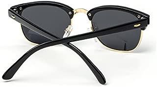 Sunglasses Child Sunglasses Stylish Sunglasses Coating Colorful Sunglasses Boys Girls Kids Baby Goggles UV400 Mirror Accessories for Summer Beach (Color : Orange)