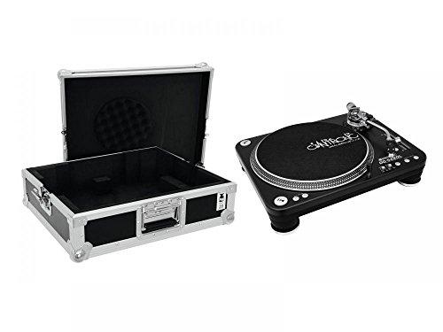 OMNITRONIC DD-5220L Plattenspieler bk Case tour Pro schwarz -B-
