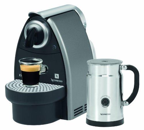 Krups XN 2135 Nespresso Essenza Titan Grau