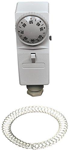 Afriso Gehäuse-Anlegethermostat GAT/7RC, außenliegende Verstellung, 67401x