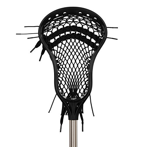 StringKing Complete Jr. Boy's Youth Lacrosse Stick Head & Shaft (Assorted Colors)