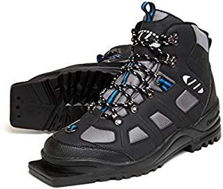 Whitewoods New Adult 301 3 Pin 75mm Nordic Cross Country XC Insulated Ski Boots (49)