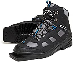 Whitewoods New Adult 301 3 Pin 75mm Nordic Cross Country XC Insulated Ski Boots (40)