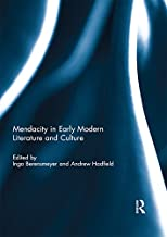 Mendacity in Early Modern Literature and Culture