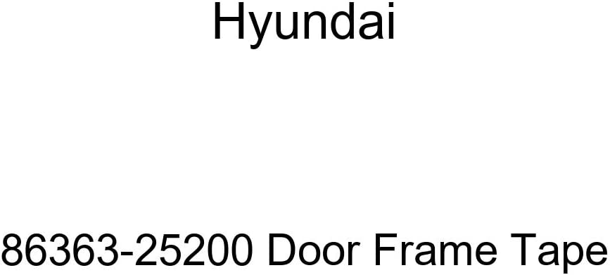 Genuine Jacksonville Mall Hyundai 86363-25200 Tape Frame Manufacturer regenerated product Door