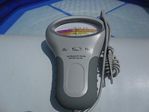 pH + Chlor Messgerät Pool Wassertester Meter Schwimmbad Quick up tester Messgeraet