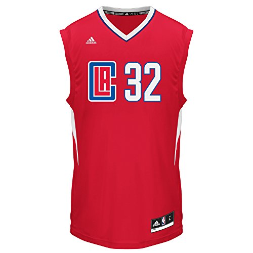 NBA Men's Los Angeles Clippers Blake Griffin Replica Player Pride Jersey, Small, Red