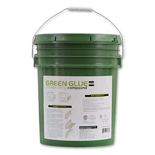 Green Glue Noiseproofing Compound - 5 Gallon Bucket