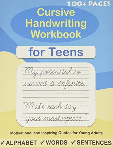 Compare Textbook Prices for Cursive Handwriting Workbook for Teens: A cursive writing practice workbook for young adults and teens Beginning cursive workbooks  ISBN 9781080543175 by Lalgudi, Sujatha