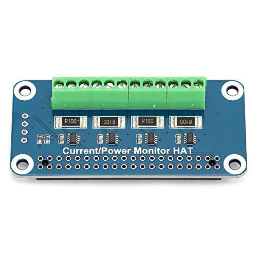 Cuifati Sense HAT für Stromverbrauchsmonitor für 4 Kanäle Sense HAT für Strom- und Strommonitor