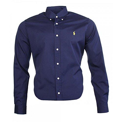 Ralph Lauren Herren Classic Business Hemd Navy (M)