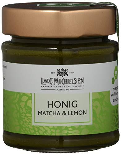 L.W.C. Michelsen Honig mit Matcha & Lemon, 180 g