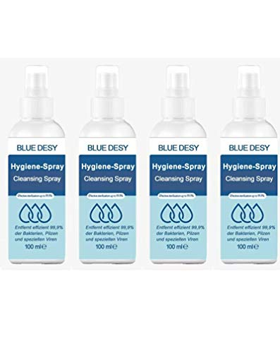 Hygiene Spray - Effective sterilization - 6er Pack (6 x 100ml)