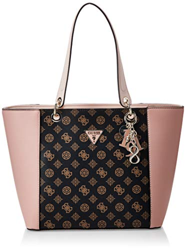 HWSE6691230 Brown/Blush Guess GUESS HANDBAG MAIN Borsa Donna
