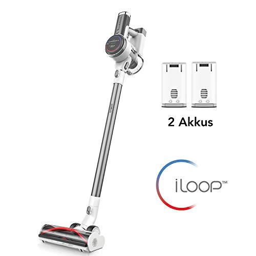 Tineco S12 Plus Akku-Staubsauger, Smarter Stabstaubsauger, Smarte Saugfunktion, Digitales Anzeigefenster, App-Bedienung, bis zu 22 KPa Saugleistung, Teppiche und harte Böden (Pro EX)