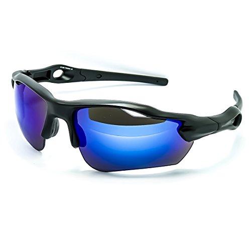KISS Gafas de sol deportivas CICLISMO mod. MTB PRO - Bicicleta de...