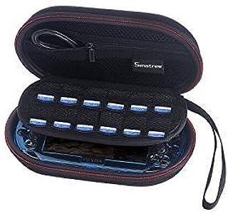 [改善版] Smatree PS Vita2000/1000/ PSP 3000 ケース 保護カバー Vitaアクセサリー 収納ケース 旅行やホームストレージケース P100L