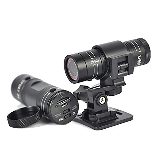Helm Kamera Mini Motorrad, Full HD 1080p 30fps 120a Full Hd Wasserdicht Radfahren Sport Camcorder Für Fahrrad Motorrad Helm