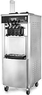 VEVOR Machine à Crème Glacée Verticale Professionnel Sorbetière à Glace Ice Cream Machine Appliqué dans les Restaurants, l...