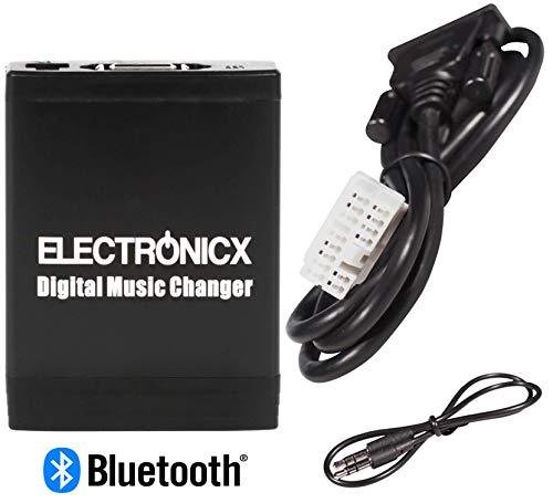 Electronicx Elec-M06-HON2-BT Adaptador para Coche USB, MP3,AUX,SD,Bluetooth Manos Libres CD para Honda 2.4 Accord Civic