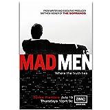 chtshjdtb Mad Men TV-Serie Leinwand Malerei Kunst Poster