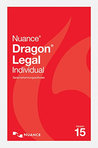 Nuance Dragon NaturallySpeaking Dragon Legal Individual 15