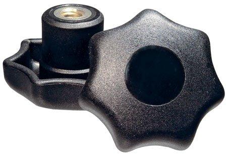 Kipp KBP-261 New life Thermoplastic Seven-Lobe Knob Limited time sale Diameter 2.48 8-11 5