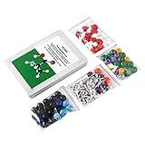 Candybarbar Molecular Model Kit 239 PCS, OCDAY Química orgánica e inorgánica Molecular Model Student Set (86 átomos y 153 Partes de Enlaces)