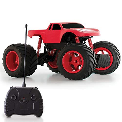 Sharper Image Remote Control Mini Monster Rockslide Truck, 1:24 Scale, 49 MHz, Red