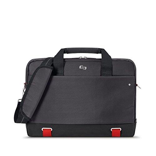 Solo Pro Aegis Laptop Briefcase Rfid Pocket 15.6', Black