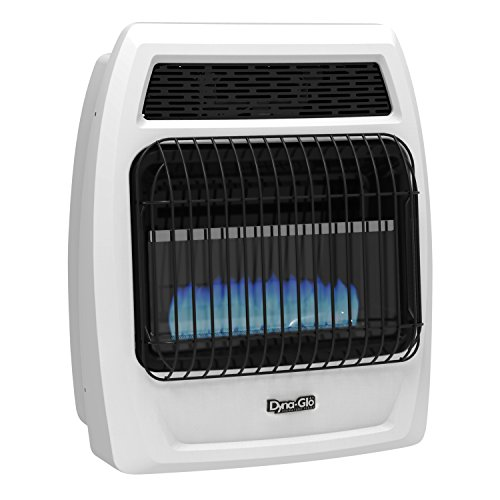 Dyna-Glo BFSS10NGT-2N 10,000 Natural Gas Thermostatic 10K BTU NG Blue Flame Vent Free T-stat Wall Heater