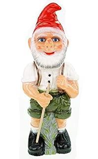 Dwarf Seppel garden gnome plastic