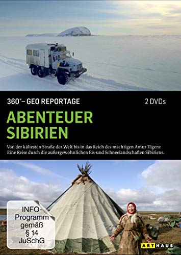 360° - GEO Reportage: Abenteuer Sibirien [2 DVDs]