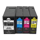 SVUZU Cartuchos De Tinta para Canon PGI-1110 1200 1300 1400 1500 1600 1900 XL Reemplazo, Compatible para Canon Maxify MB2060 MB2160 MB2360 MB2760 Impresora 1set
