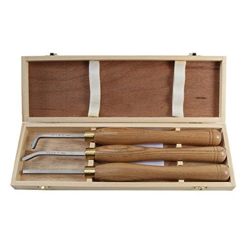 PSI Woodworking LCHOL3 3pc HSS Mini Hollowing Tool Set
