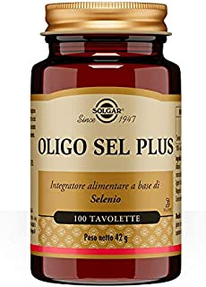 Solgar Yeast-free Selenium 100's Tablets, 100 Mcg