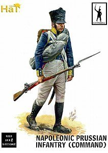 Napoleonic Prussian Infantry Command (18) 1/32 Hat by Hat