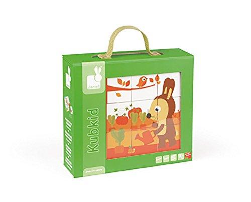 Janod - Cubes Color Animal - Carton - 02802