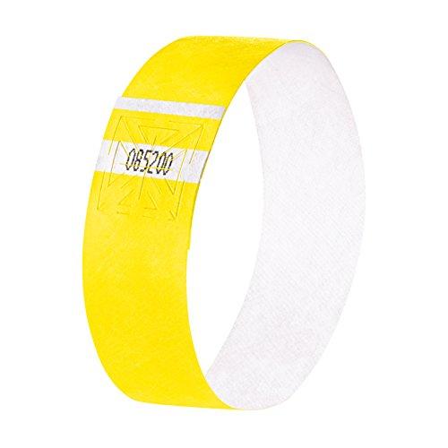 SIGEL EB223 Eventbänder Super Soft, neon gelb, 520 Stück - viele Farben
