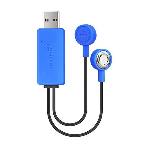 TrustFire UC10 Universal USB Akku-Ladegerät Batterien Magnet-Ladegerät Charger für wiederaufladbare Lithium-Ionen-Batterien 32650 14500 16340 26650 18650