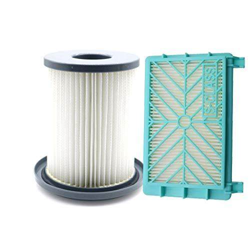 CAIM Luftreiniger Ersatzfilter 2ST / Set Staubsauger Luftfilter + HEPA-Filter for Philips FC8720 FC8724 FC8732 FC8734 FC8736 FC8738 FC8740 FC8748 Element Ersatz