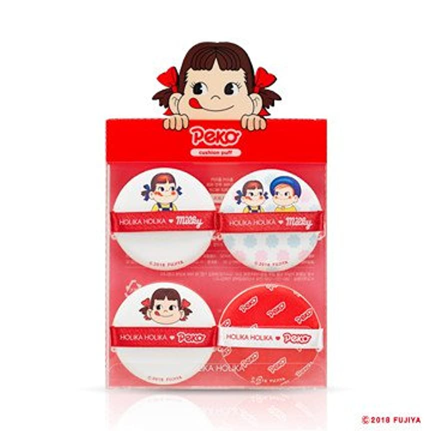 あからさま平等放射するHolika Holika [Sweet Peko Edition] Hard Cover Cushion Puff(4EA)/ホリカホリカ [スイートペコエディション] ハードカバークッションパフ (4枚入り) [並行輸入品]